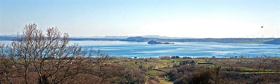 San Lorenzo Nuovo, panorama sul lago di Bolsena